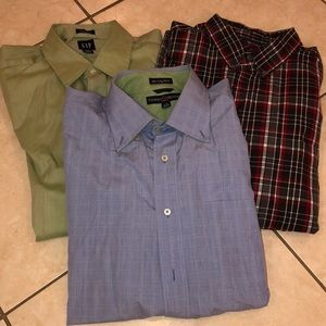 Men's dress shirt bundle size L